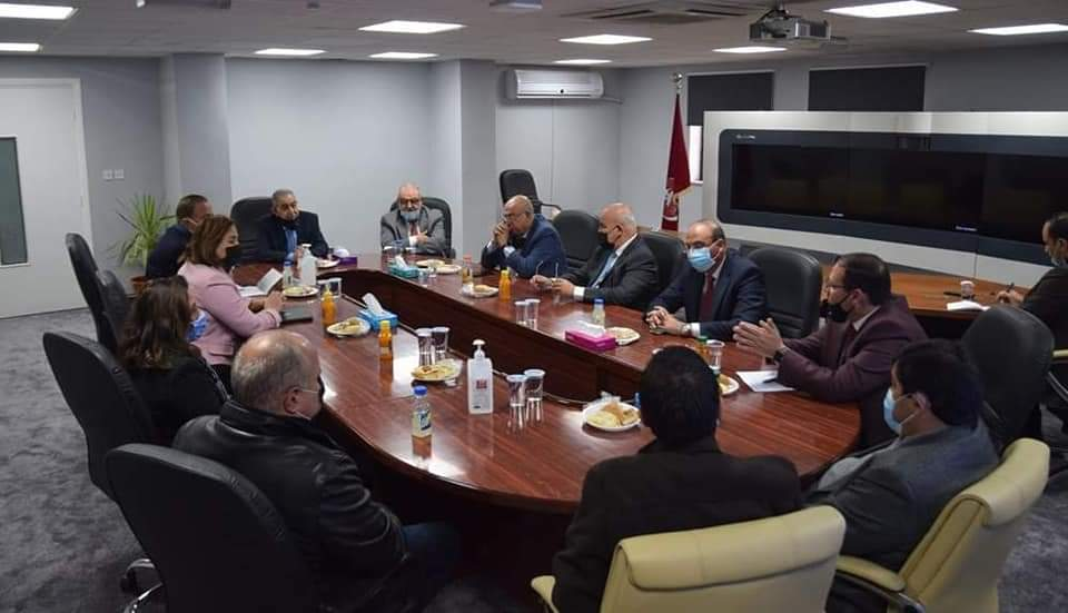 د.الحسبان يشيد بجهود دولة مضر بدران بدعم مسيرة الجامعة الهاشمية