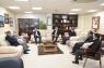 الجامعة الهاشمية تبحث التعاون المشترك مع مركز اللغات الحديث