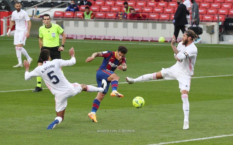 ريال مدريد يستعيد توازنه بدك شباك برشلونة (3-1) 287364_18_1603555729