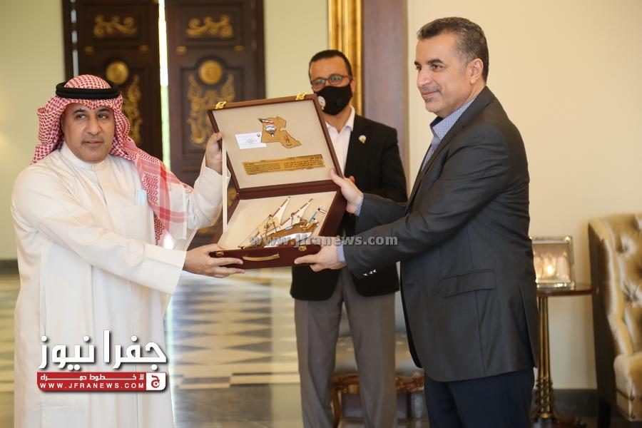 الديحاني يكرم امين عام وزارة الخارجية بحضور عدد من سفراء الدول فيديو و صور