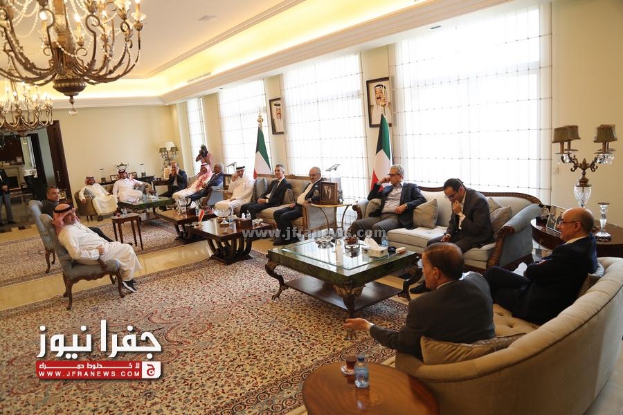 الديحاني يكرم امين عام وزارة الخارجية بحضور عدد من سفراء الدول (فيديو و صور)