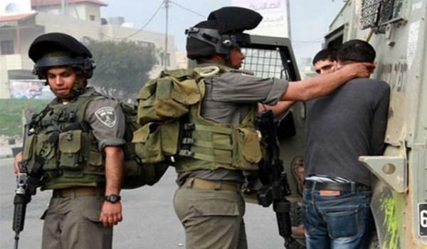 الاحتلال الاسرائيلي يعتقل 10 فلسطينيين