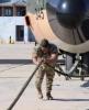 بصورة .. النقيب القطاونة بطل أردني جر طائرة C1-13 بوزن 70 طن