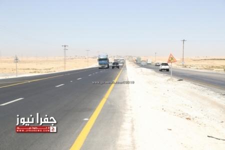 الطريق الصحراوي تحت القبة من جديد .. والأرواح أهم من الكلفة المالية