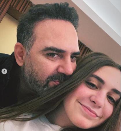 ابنة وائل جسار تلفت الأنظار بملامحها الفاتنة