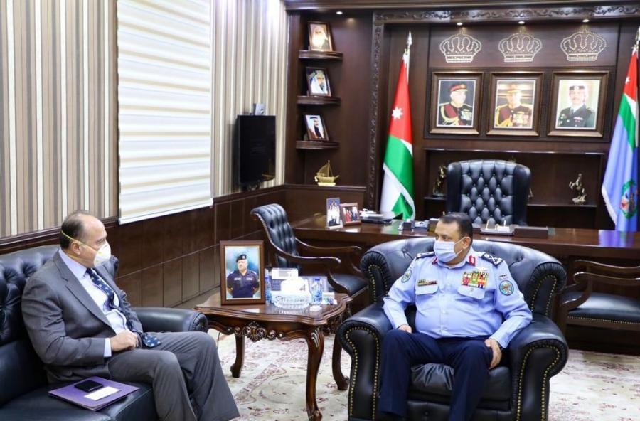 الحواتمة يلتقي السفير الأمريكي في عمان