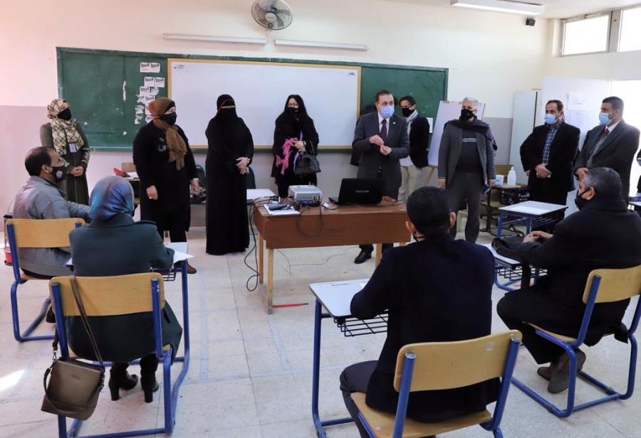 النعيمي نحرص على متابعة مستوى تطور المهارات الأساسية للطلبة