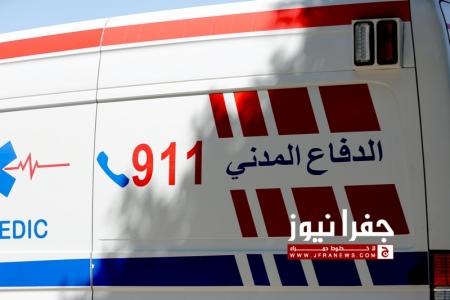 وفاة و6 اصابات اثر حادث تصادم في اربد